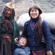 Eine Laya Familie