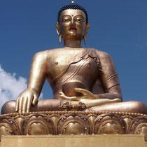 Lord Buddha bei Timphu