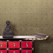 gold modern italian textured handmade wallpaper
