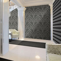 gray patterned and striped contemporary italian textured wallpaper