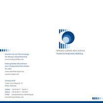 Flyer für die Herzog-Ludwig Realschule Altötting