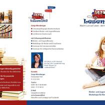 Folder Lesemobil, 2014