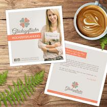 Flyer für Hochzeitsplanerin