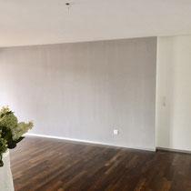 Wohnzimmer noch leer