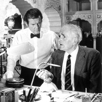 Desmond Llewelyn (rechts) © Danjaq LLC / Metro-Goldwyn-Mayer / 20th Century Fox Home