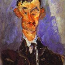 Chaïm Soutine - Portrait d'homme