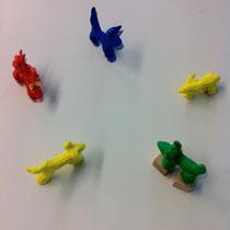 Charaktertypen im Wolfsrudel