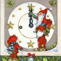 Die ZwÖlfen 2,  Weihnachtstkarte