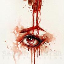 "Gothic Fantasy Illustration "" Bloodlines"" art for licensing  / licensing artist"