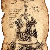 Illustration eines Princimeta aus dem Land der tausend Königreiche von Thomas Cabayè