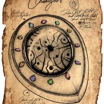 Illustration eines Quatagast aus dem Land der tausend Königreiche von Thomas Cabayè