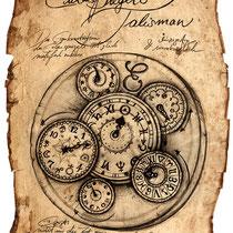 Illustration von Eulenspiegels Talisman aus dem Land der tausend Königreiche von Thomas Cabayè