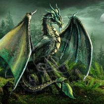"Fantasy Dragon Illustration "" Garwin "" art for licensing  / licensing artist"