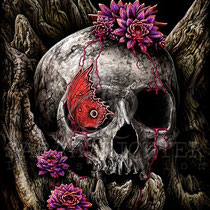 "Gothic Fantasy Illustration "" A glance of evanescenes"" art for licensing  / licensing artist"
