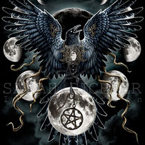 """Gothic Fantasy Illustration """" Sinister Wings"""" art for licensing  / licensing artist"""