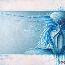"""Gothic Fantasy Illustration """" The Dreamcatcher"""" art for licensing  / licensing artist"""