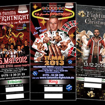 Eintrittskarten für die la familia Fightnights