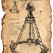 Illustration eines Altyromant aus dem Land der tausend Königreiche von Thomas Cabayè