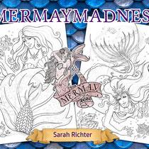 Mermay / Line Art Coloring Pack / Meerjungfrauen von Sarah Richter