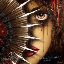"""Gothic Fantasy Illustration """" Nahimana """" art for licensing  / licensing artist"""