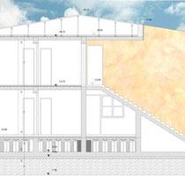 Contratto di Quartiere II San Cataldo - Recupero edilizio - Sezione fabbricato 2