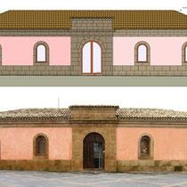 Ex Mattatoio comunale di Aidone - Prospetto principale