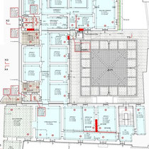 Palazzo Municipale Sant' Angelo di Brolo - 2° Piano - Planimetria interventi