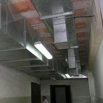 Scuola Media E. Medi di Castelvetrano - Realizzazione impianto di ventilazione meccanica controllata