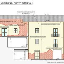Palazzo Municipale Sant' Angelo di Brolo - Sezione/Prospetto