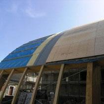 Museo Etnografico e Archeologico di Marianopoli - Realizzazione stratificazione sistema di copertura