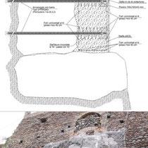 Consolidamento costone roccioso del centro abitato in Motta Sant'Anastasia - Particolari intervento consolidamento