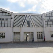 Scuola Media De Amicis di Calatafimi Segesta - Foto corte interna
