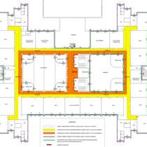 Scuola Media E. Medi di Castelvetrano - Pianta piano terra