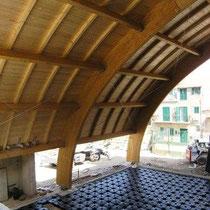 Museo Etnografico e Archeologico di Marianopoli - Realizzazione vespai aerati e copertura in legno lamellare