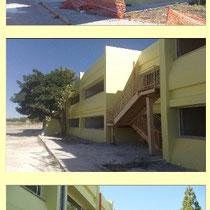 Scuola Media E. Medi di Castelvetrano - Foto di esterni post intervento