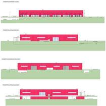 Area Commerciale Integrata in Foggia - Medie strutture di vendita - Prospetti