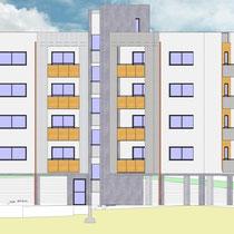 Contratto di Quartiere II San Cataldo - Alloggi nuova costruzione - Prospetto