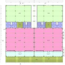Area Commerciale Integrata in Foggia - Medie strutture di vendita - Layout funzionale e distributivo corpo singolo