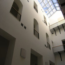Palazzo Municipale di Santa Caterina Vill.sa - Foto corte interna