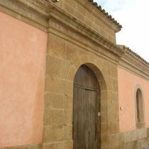 Ex Mattatoio comunale di Aidone - Foto portale d'ingresso restaurato