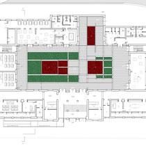 Scuola Media De Amicis di Calatafimi Segesta - Pianta piano terra
