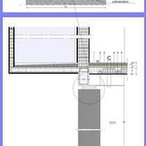 Contratto di Quartiere II San Cataldo - Alloggi nuova costruzione - Particolare Isolatore sismico a scorrimento