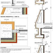Scuola Media E. Medi di Castelvetrano - Particolari isolamenti e coibentazioni involucro edilizio