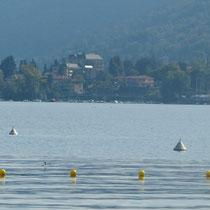 der Lago Maggiore ist so weitläufig