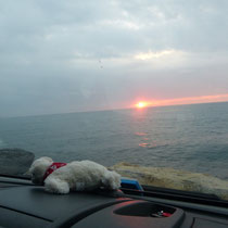 Sonnenaufgang um 7.00 h