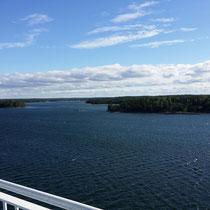 ... in finnischen Gewässern