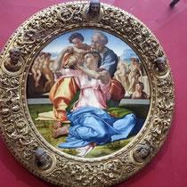 """Michelangelo:  """"Doni Tondo"""" oder  Die Heilige Familie"""