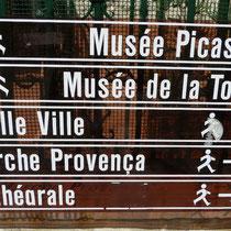 und nun zum Picasso Museum