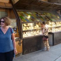 """Goldschmiede auf der """"Ponte Vecchio"""""""