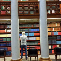 in der Staatsbibliothek - wie im Harry Potter Film